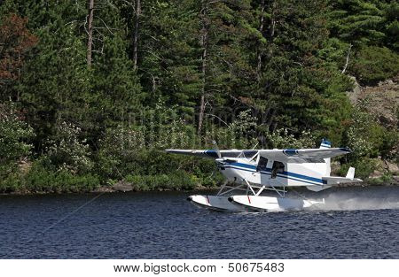 Float Plane Take-off