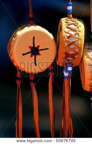 Native American Souvenir Drums