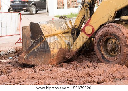 Bulldozer Performing