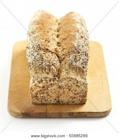 Multigrain Bread On A Chopping Board