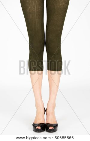 Long slim female legs