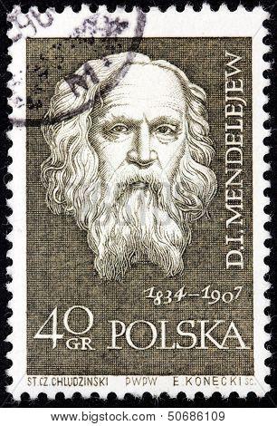 Mendeleev Stamp