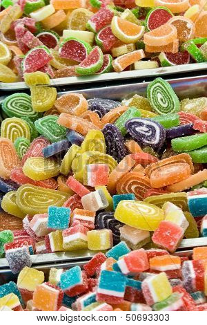 Assortment Of Various Jelly Candies