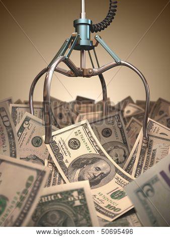 Dollar Grabber Game