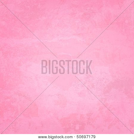 Pink Paper and Watercolor Textured Vector Background