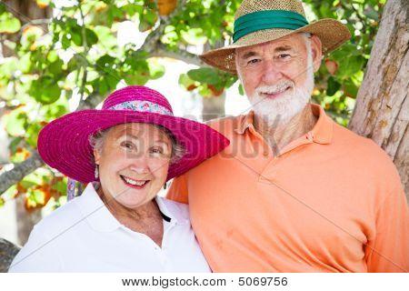 Süßes altes Paar