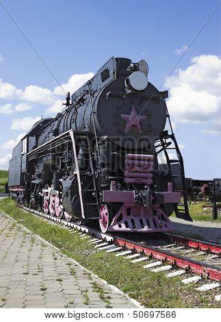 Cargo Soviet Locomotive 50-ies