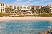 image of cortez  - Luxury resort on the seashore of the Sea of Cortez in Cabo San Lucas Mexico - JPG