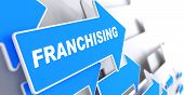 stock photo of slogan  - Franchising  - JPG