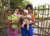 Aeta Mothers And Babies