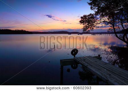 Sunset Reflections Kincumber, Australia