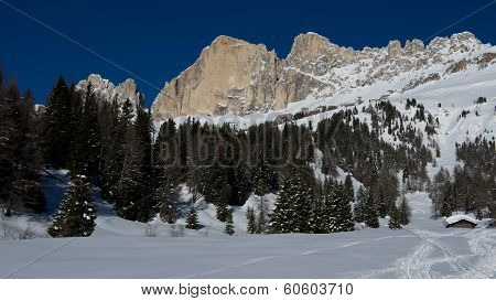 Snow, Peaks And Clouds