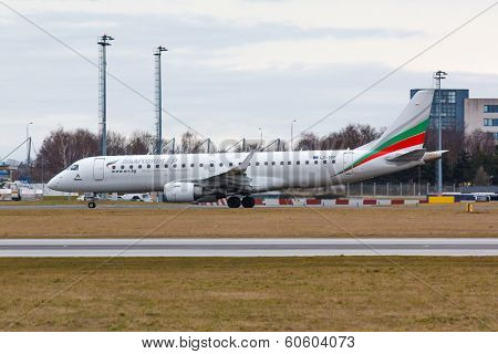 Erj-190 Bulgaria Air
