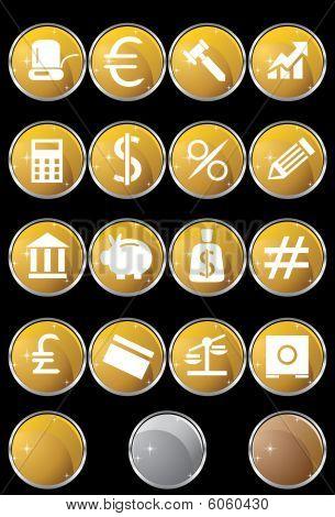 Banking Set Gold