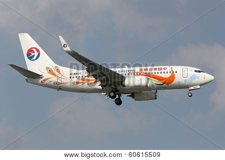 China Eastern Boeing 737-700 Special Livery