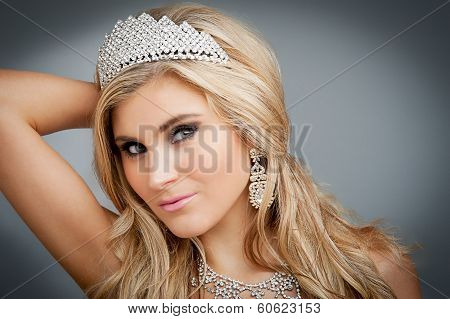Beauty Queen Portrait.