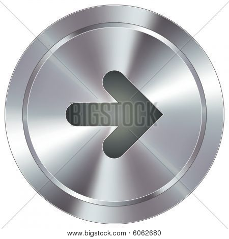 Modern right directional button
