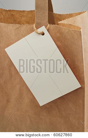Paper Bag Blank Tag