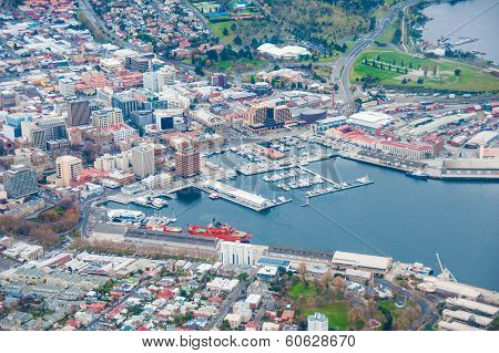 Hobart by air