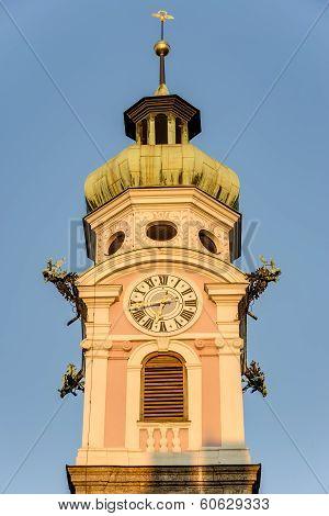 The Spital Church In Innsbruck, Austria