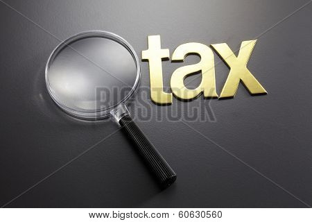 alphabet tax and the magnifying glass