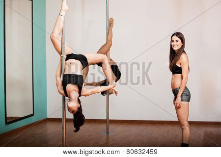 Pole fitness business owner