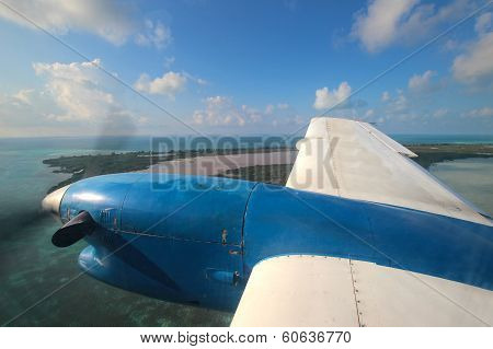 View Through Aircraft Window