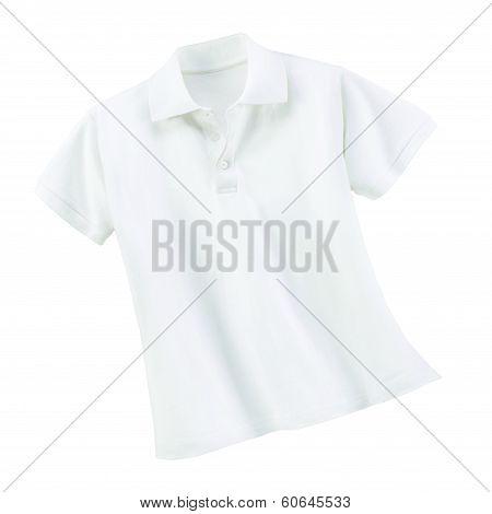 white clean shirt