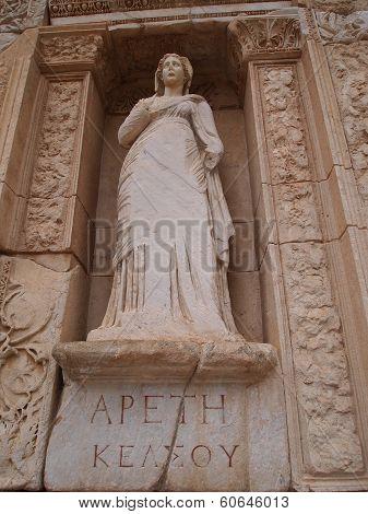 Statue of Arete, Ephesus