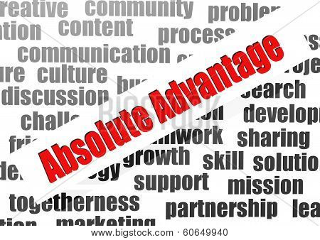 Absolute Advantage Word Cloud