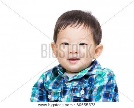 Asian baby boy