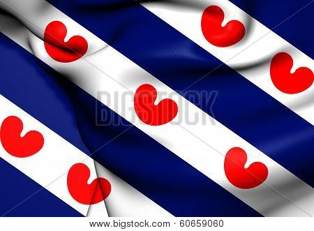 Flag Of Friesland