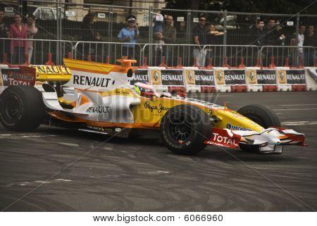 Romain Grosjean Pilot Of Renault F1 Team