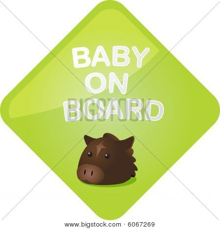 Baby On Board Horse