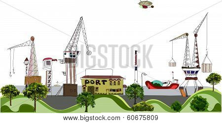 Big port illustration