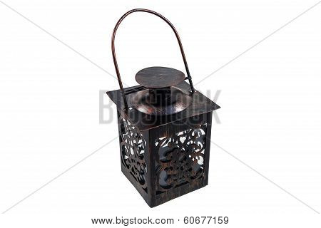 The Iron Portable Lantern With Handle