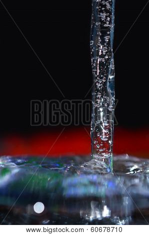 Frozen Water Jet