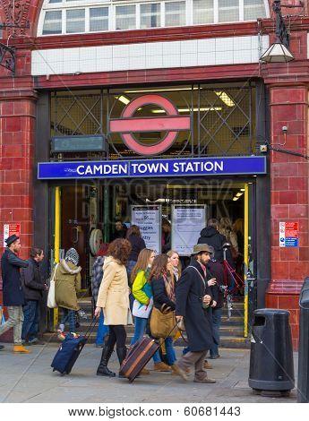 Camden Tube Station