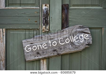 Gone To College.