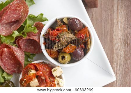 Olives And Sundried Tomatoes
