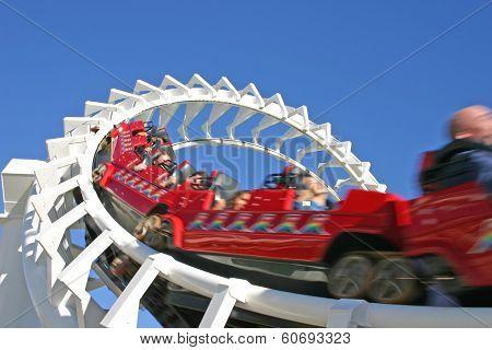 Rollercoaster, Seaworld Gold Coast, Australia