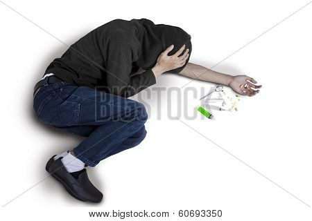 User Of Drug Abuse Isolated