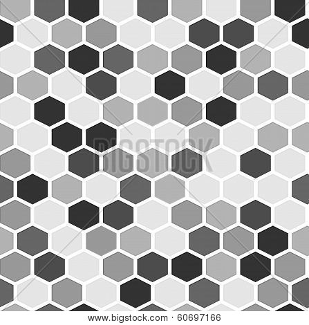 The Simple Seamless Hexagon Background