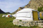 image of mongolian  - Mongolian gers in Gorkhi Terelji National Park - JPG