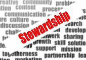 picture of stewardship  - Stewardship word cloud image with hi - JPG