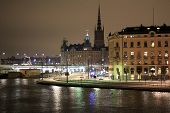 Night-time Stockholm