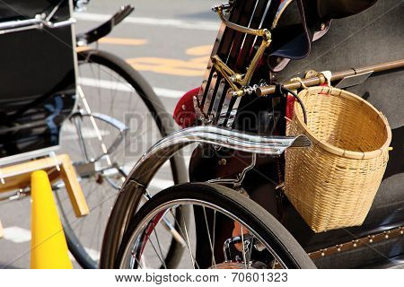 Rickshaw in Kyoto japan