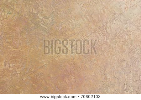Decorative Plaster Paint On The Wall