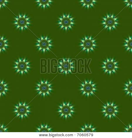 Green Roundel Tile