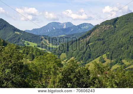 Mountains in Upper Austria